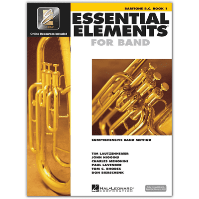 Essential Elements Book 1 - Baritone B.C. <HL00862578>