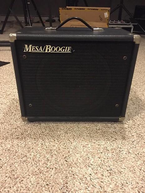 mesa boogie 1x12 guitar cabinet open back with ev black reverb. Black Bedroom Furniture Sets. Home Design Ideas