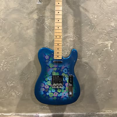 Fender '69 Reissue Blue Flower Telecaster Blue Flower for sale