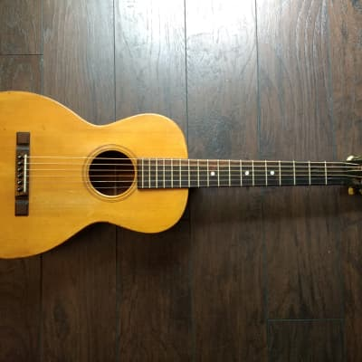 Maurer Larson Brothers Parlor Guitar ca. 1930 Spruce/Mahogany w/ Gruhn Appraisal RARE! for sale