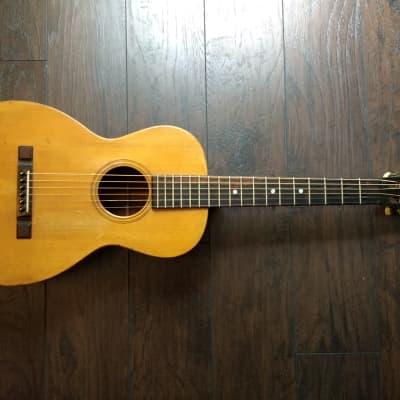 Maurer Larson Brothers Parlor Guitar ca. 1930 Spruce/Mahogany w/ Gruhn Appraisal RARE! for sale
