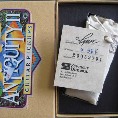Seymour Duncan Antiquity II Mini Humbucker Neck Pickup 6.36k