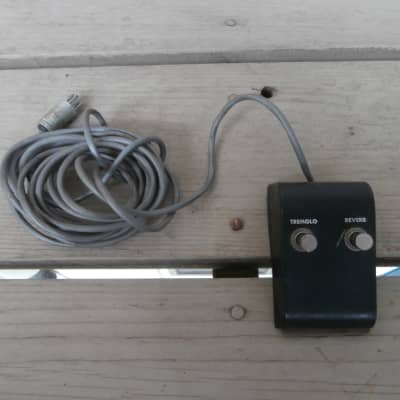 Vintage 1960's Gibson Amplifier Two Button, Five Pin Reverb/Tremolo Footswitch! Rare, Original! for sale