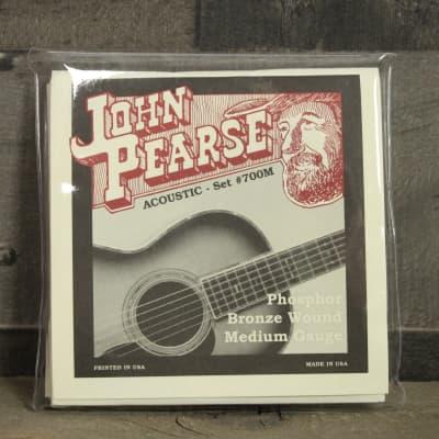 John Pearse JP 700M Medium Phosphor Bronze Acoustic Guitar Strings - 13/56 for sale