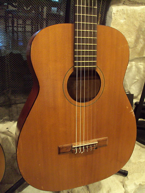 vintage harmony classical acoustic guitar 1960s made in usa reverb. Black Bedroom Furniture Sets. Home Design Ideas