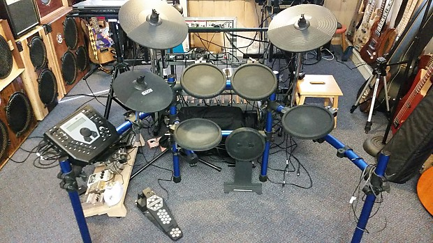 Simmons Sd1000 Electronic Drum Kit Reverb