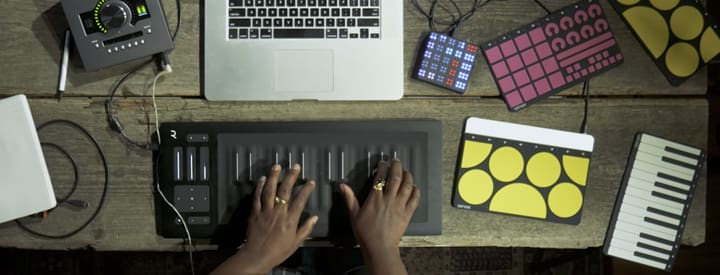 Video: Exploring 4 New-School MIDI Controllers from ROLI, Sensel, and Keith McMillen