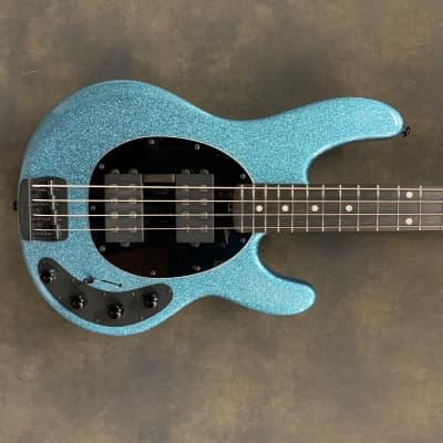 Ernie Ball Music Man Stingray 4HH 2019 Aqua Sparkle