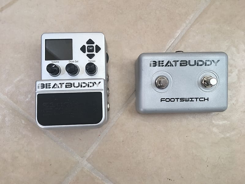 Singular Sound BeatBuddy with Footswitch   The G A S Shop