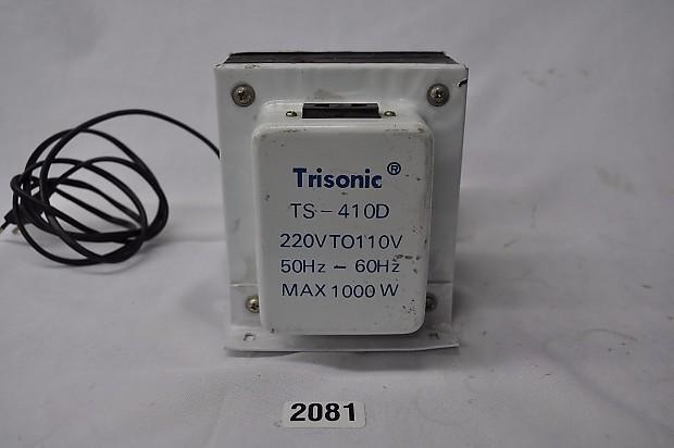 Trisonic TS-401D 220V to 110V 50Hz - 60Hz Max 1000w Step Down Transformer