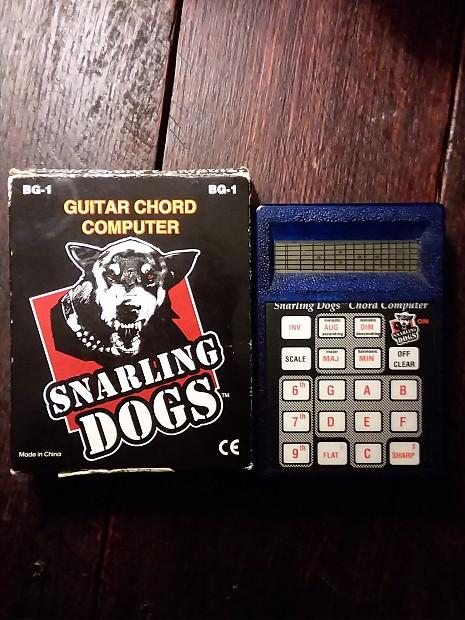 Snarling Dogs BG-1 Guitar Chord Computer | Reverb