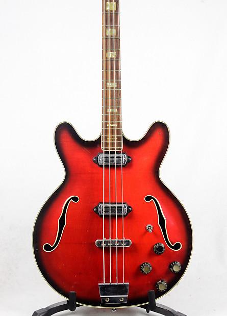 vox crucianelli made cougar 1964 vintage electric bass reverb. Black Bedroom Furniture Sets. Home Design Ideas