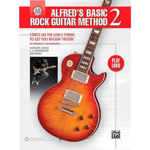 Alfred 00-42283 Alfred's Basic Rock Guitar Method 2 Book