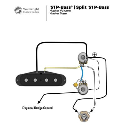 prewired '51  '56 precision bass wiring harness   reverb