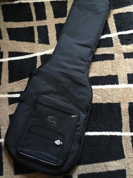 fec640d0e9 Fender Stratocaster Telecaster Soft Case Black | Reverb