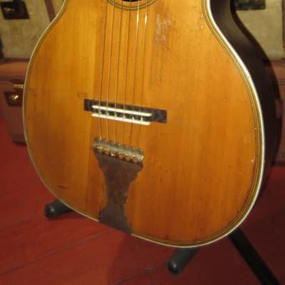 Vintage 1920's Oahu Parlor Guitar w/ Soft Case for sale