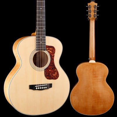 Guild Jumbo Junior Flamed Maple - Antique Blonde S/N G21806860 3lbs 13.2oz for sale