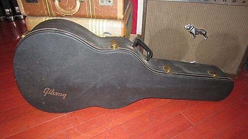 Vintage Circa 1968 Gibson J-45 J-50 Dove Hummingbird Hard Case