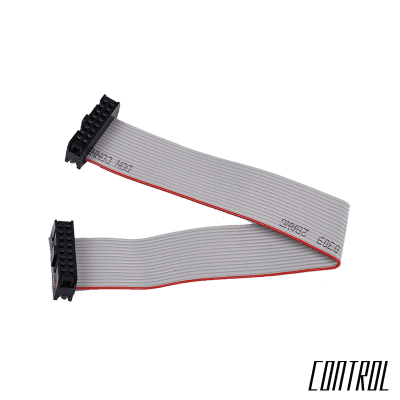 16-pin to 16-pin Power Ribbon Cable - 7-inches / 178mm