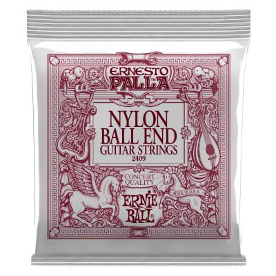 Ernie Ball Ernesto Palla Black & Gold Ball-End Nylon Classical Guitar Strings