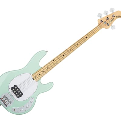 Sterling by Music Man RAY4-MG-M1 StingRay in Mint Green for sale