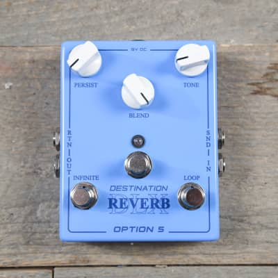 Option 5 Destination Reverb Deluxe USED Pre-Order