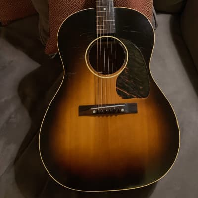 Gibson LG-1 Sunburst 1951! One piece Mahogany neck! MOJO tone! Light weight and Loud! for sale