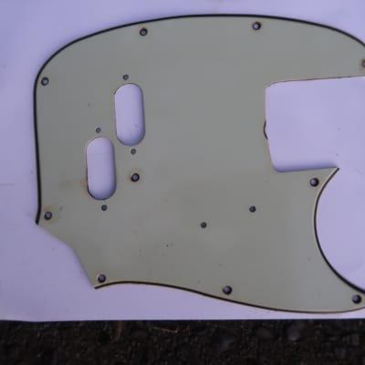 Fender Mustang Bass '66 thru '71 Mint Green USA Vintage 60's Pickguard RI