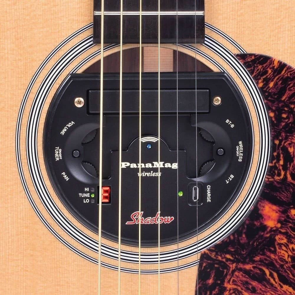 shadow pmg wa panamag acoustic guitar wireless pickup system reverb. Black Bedroom Furniture Sets. Home Design Ideas
