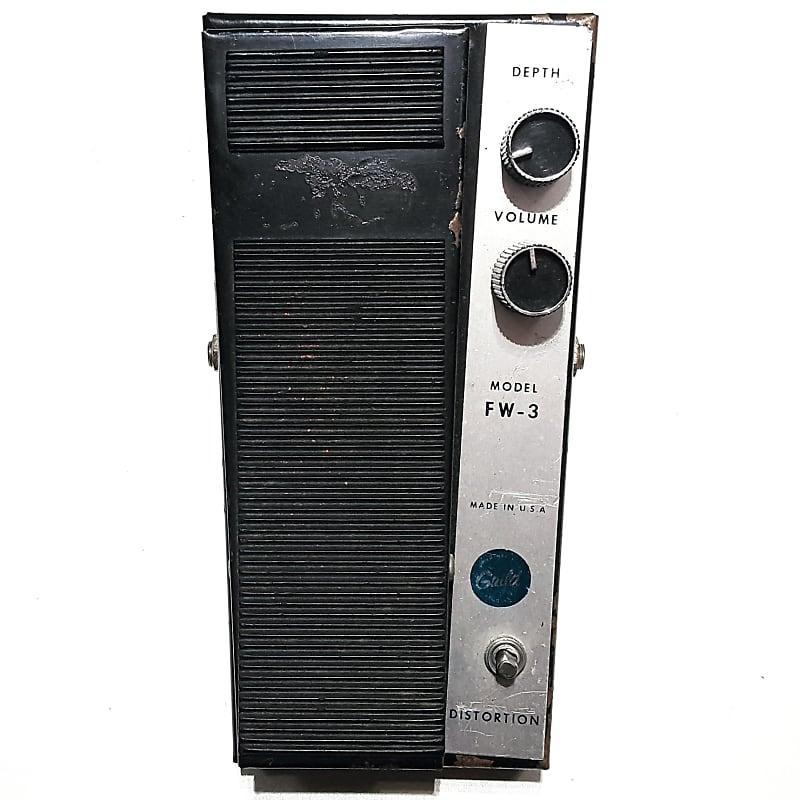 vintage guild fw 3 fuzz wah distortion volume original 1967 reverb. Black Bedroom Furniture Sets. Home Design Ideas