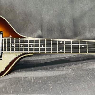 Jay Turser JTB-2B-VS Beatles 4-String Bass 2020 Vintage Sunburst for sale