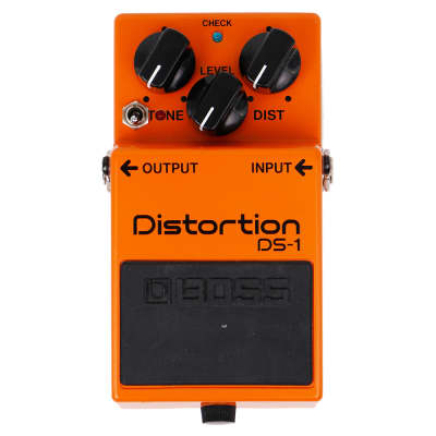 Keeley Boss DS-1 Distortion with Ultra and Seeing Eye Mods