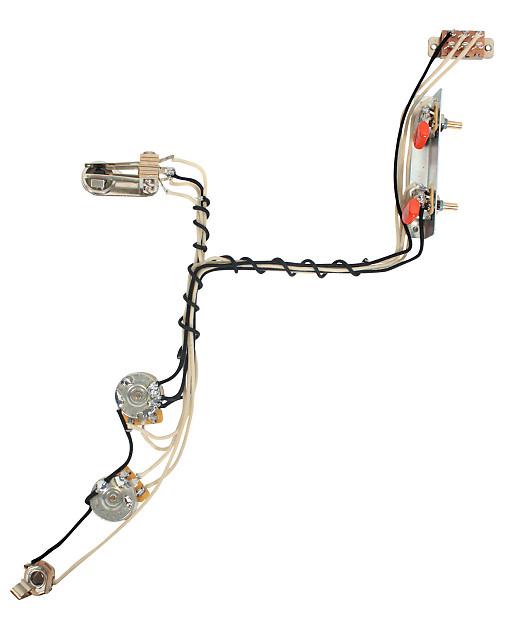 Fender modern jazzmaster guitar pre wired wiring harness 2v2t reverb fender modern jazzmaster guitar pre wired wiring harness 2v2t wkill switch cheapraybanclubmaster Gallery