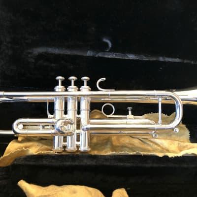 1975 Getzen Eterna Doc Severinsen Model Silver Trumpet