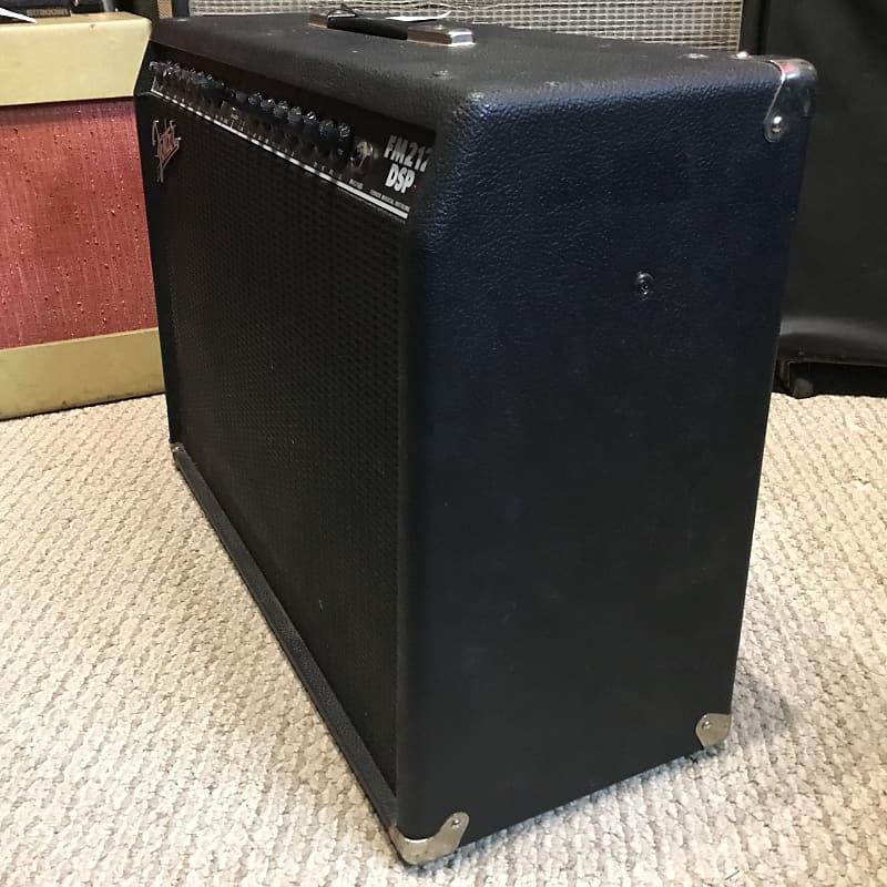 fender fm212 dsp 2x12 guitar combo amplifier reverb. Black Bedroom Furniture Sets. Home Design Ideas