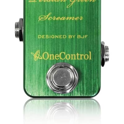 One Control Persian Green Screamer Electric Guitar Effect Pedal BJF Series for sale