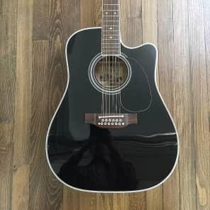 Takamine EF381SC 12-String Dreadnought Cutaway Acoustic-Electric Guitar
