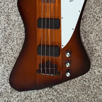 2013 Gibson Thunderbird IV Vintage Sunburst Electric bass guitar made in the USA ohsc for sale
