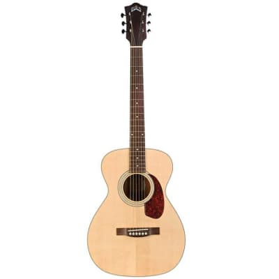 Guild M-240E Archback Westerly Collection Natural Electric Acoustic Guitar for sale