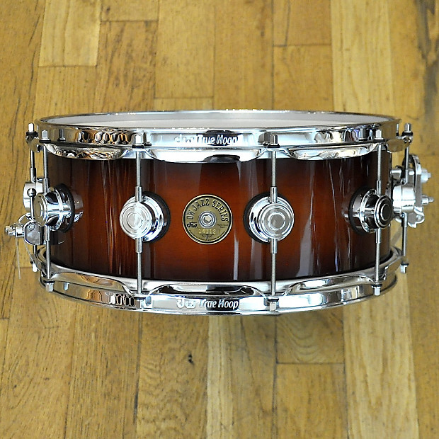 dw jazz series snare drum tobacco burst lacquer reverb. Black Bedroom Furniture Sets. Home Design Ideas