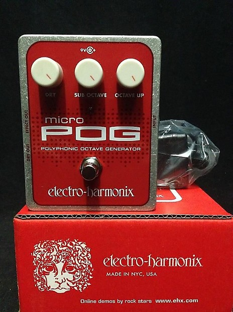 Micro Pog Pedal : electro harmonix micro pog polyphonic octave generator guitar reverb ~ Hamham.info Haus und Dekorationen