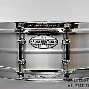 Pearl 14x5 Beaded Seamless Aluminum SensiTone Snare Drum