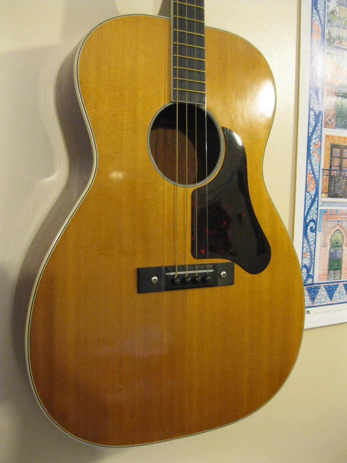 Harmony Sovereign H1201tg Usa C1969 Spruce Mahogany Reverb