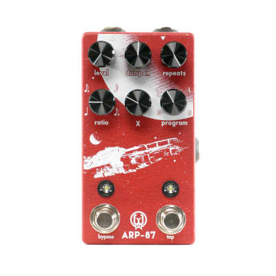 Walrus Audio ARP-87 Multi-Function Delay, Red/White (Gear Hero Exclusive)