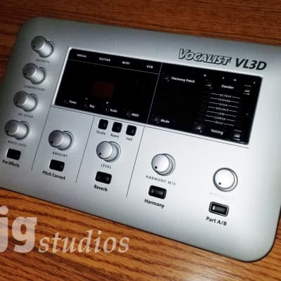 DigiTech Vocalist VL3D Desktop Vocal Harmony and Effects Processor - Like New in Original Packaging