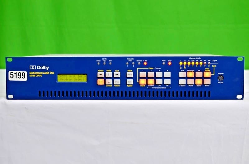 Video Production & Editing Dolby Digital Dp570 Multi-channel Audio Tool Audio For Video