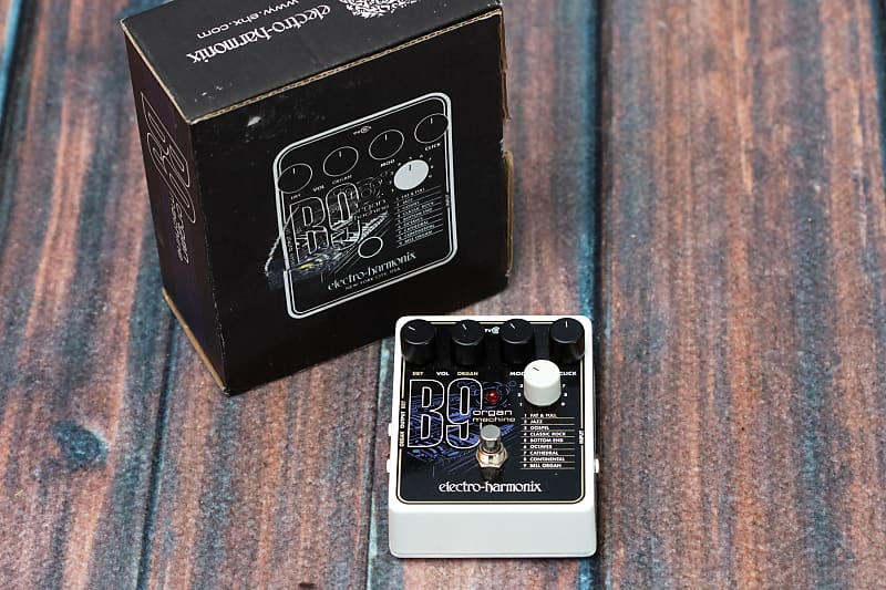 electro harmonix b9 organ machine mississippi music inc reverb. Black Bedroom Furniture Sets. Home Design Ideas