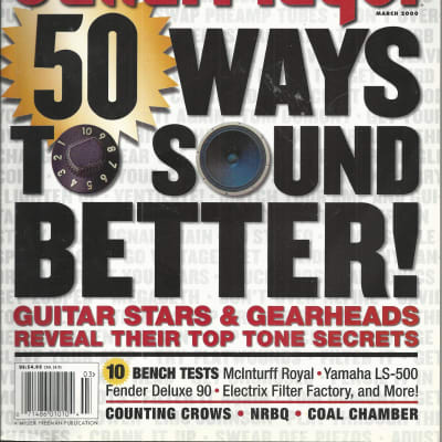 Guitar Player-Magazine, March 2000