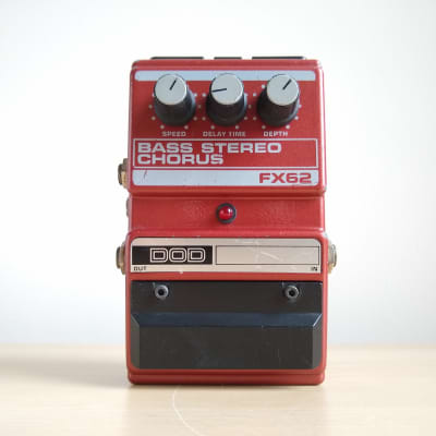 DOD FX62 Bass Stereo Chorus Vintage Pedal, Bucket Brigade BBD MN3007 for sale