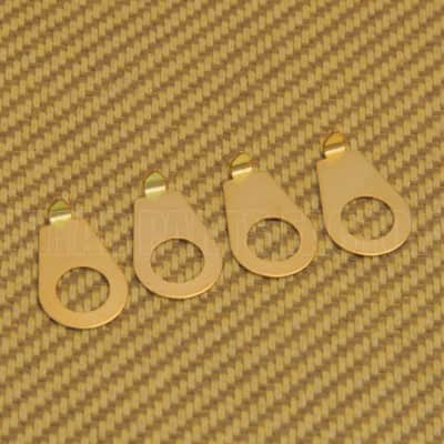 KP-MG Gold Knob Pointers for Guitar & Bass Mini Import Pots Metric Pots
